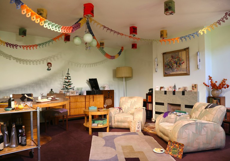 Christmas Past - A living room in 1935.Photography by Mandy Williams