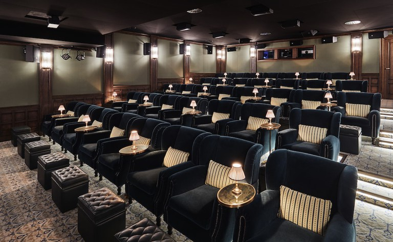 The cinema Courtesy of Soho House Barcelona