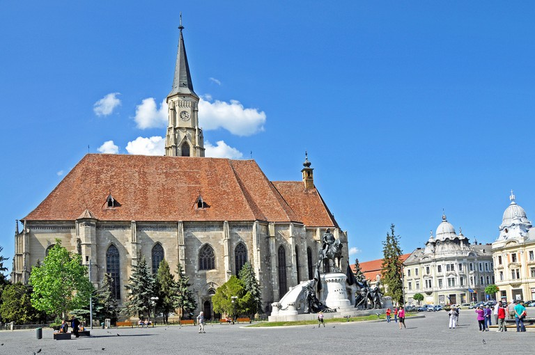 Cluj's Main Square