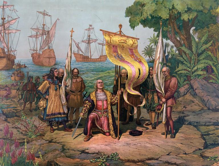 Columbus_Taking_Possession
