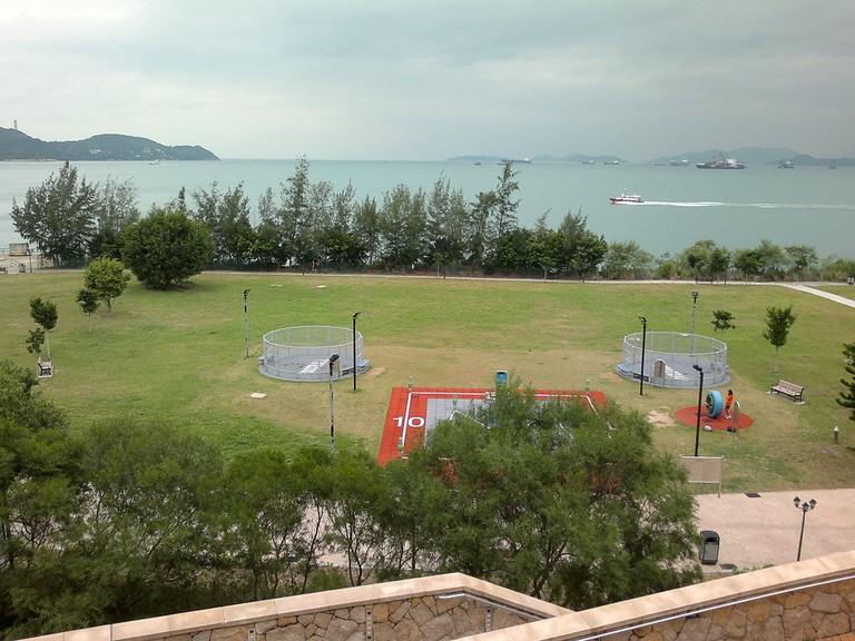 Cyberport Waterfront Park Hong Kong