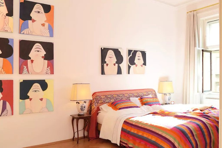 Colourful and bright for a feel-good stay