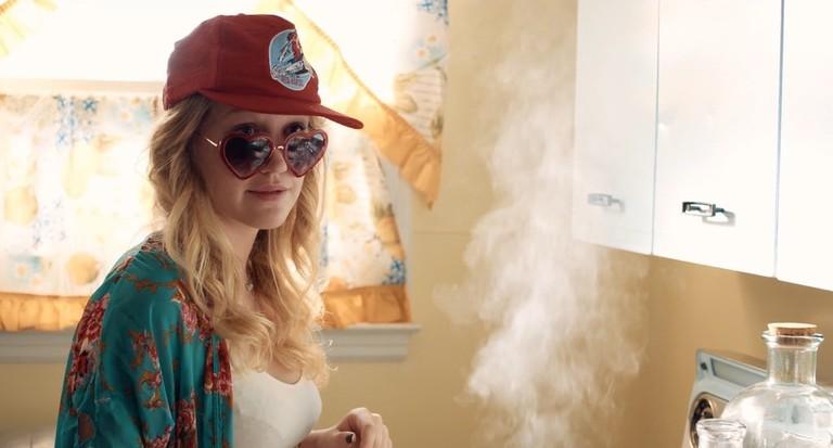 Hope Lauren as unruly bridesmaid Emma