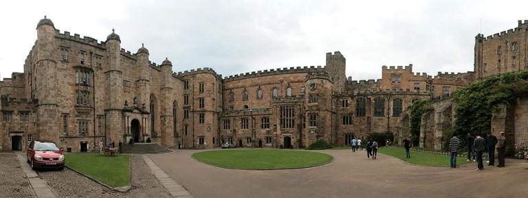 Durham University courtyard