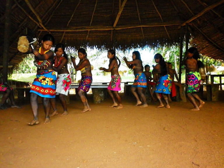 Emberá tribe, Panama