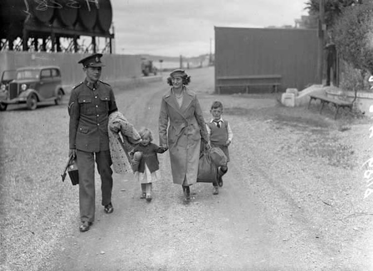 Evacuation of Spike Island by a British Family in July 1938
