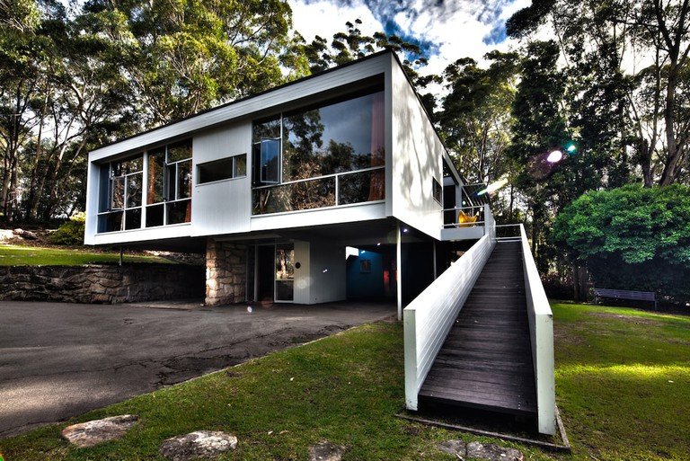 Exterior Rose Seidler House