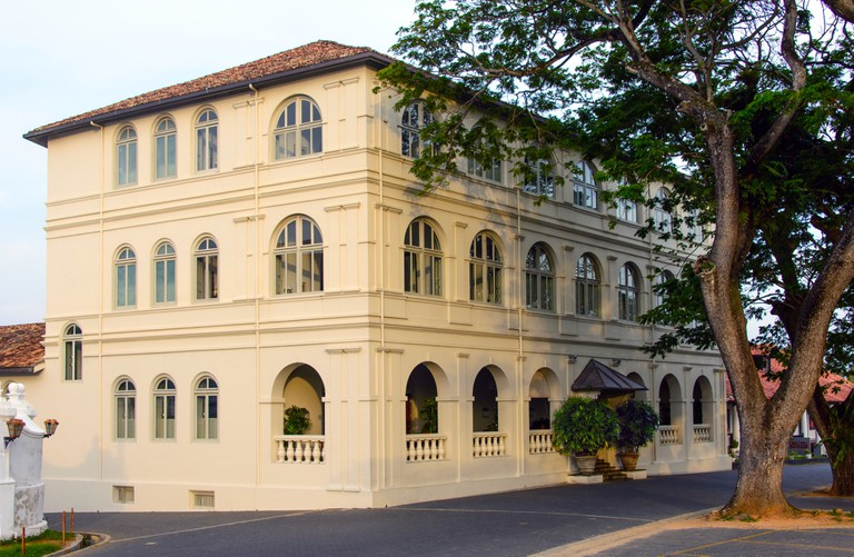 Amangalla is a gorgeous refurbished building from 1684 in the Galle Fort