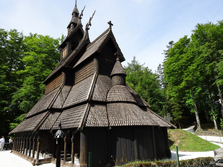 Fantoft stave church | © Mandy : Flickr
