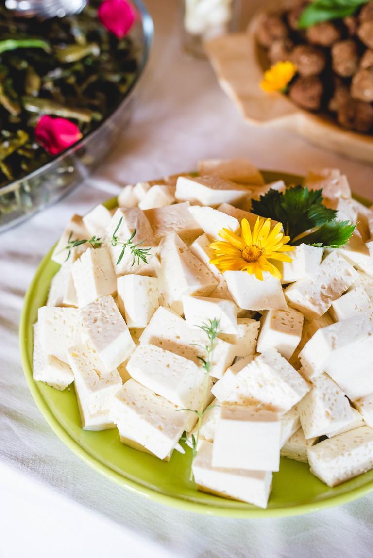 Fresh cheese © Gabriela Cuzepan