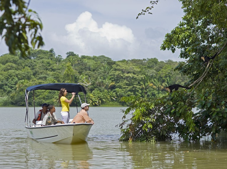 Boat ride on the Gatun Lake, Panama