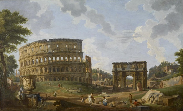 'View of the Colosseum' | Courtesy of the Walters Art Museum / WikiCommons