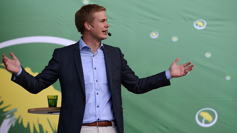 Swedish Education Minister Gusstav Fridolin