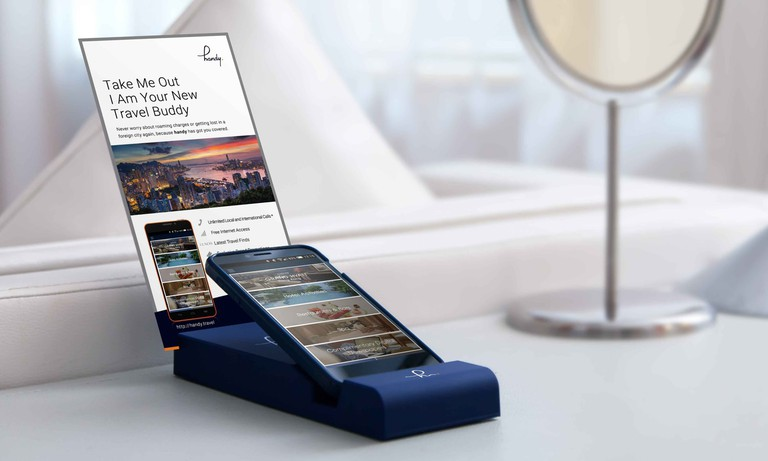 'Handy' smartphone device
