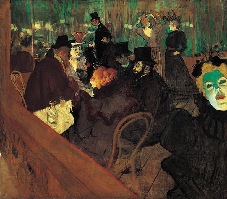 'At the Moulin Rouge' | © Henri de Toulouse-Lautrec / wartburg.edu / WikiCommons