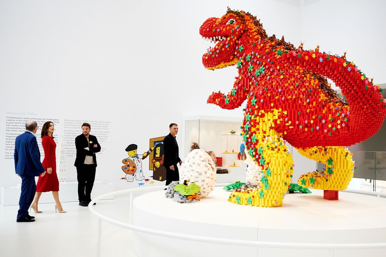 Lego House Grand Opening, Masterpiece Gallery | © LEGO