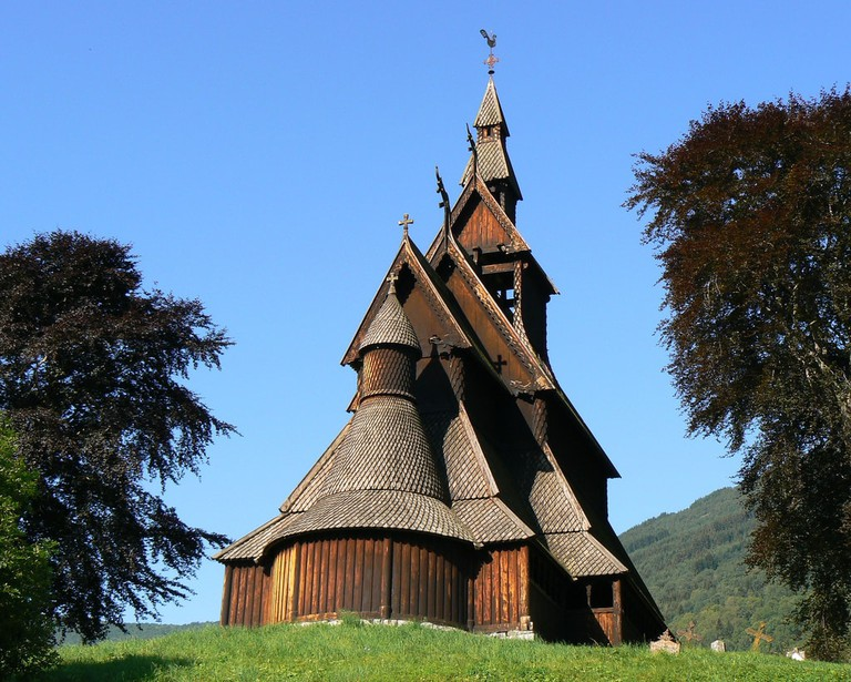 Hopperstad stave church | © Peter : Flickr