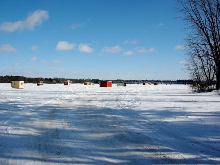Ice Fishing Shanties | © IrishFireside / Flickr