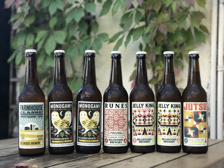 Art Labels | Courtesy of Bellwoods Brewery