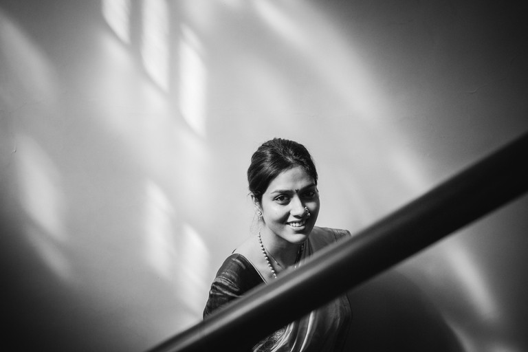 Jaina's photo of Tanvi, a bride she clicked on the latter's wedding day