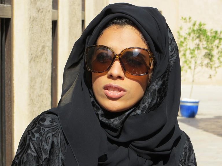 Local Emirati woman