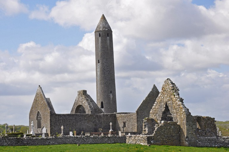Kilmacduagh Round Tower and Monastery
