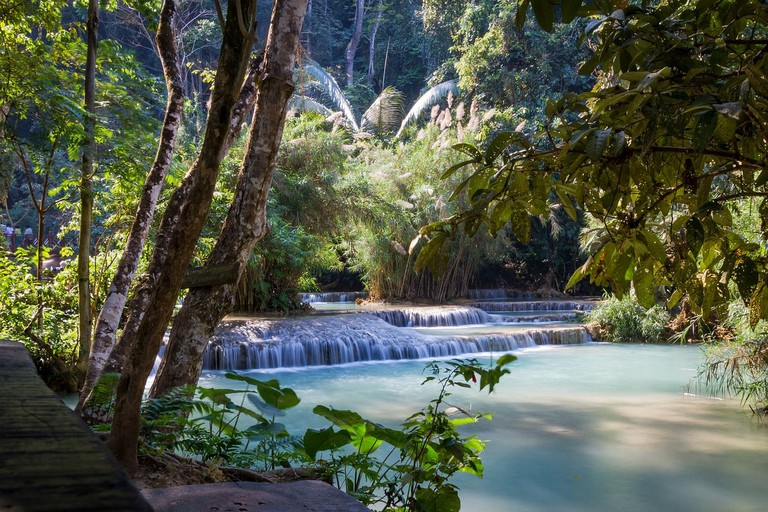 Kuang Si Falls | © Poswiecie/Pixabay