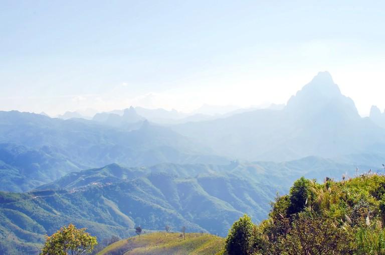 Annamite Mountains | © Dezalb/Pixabay