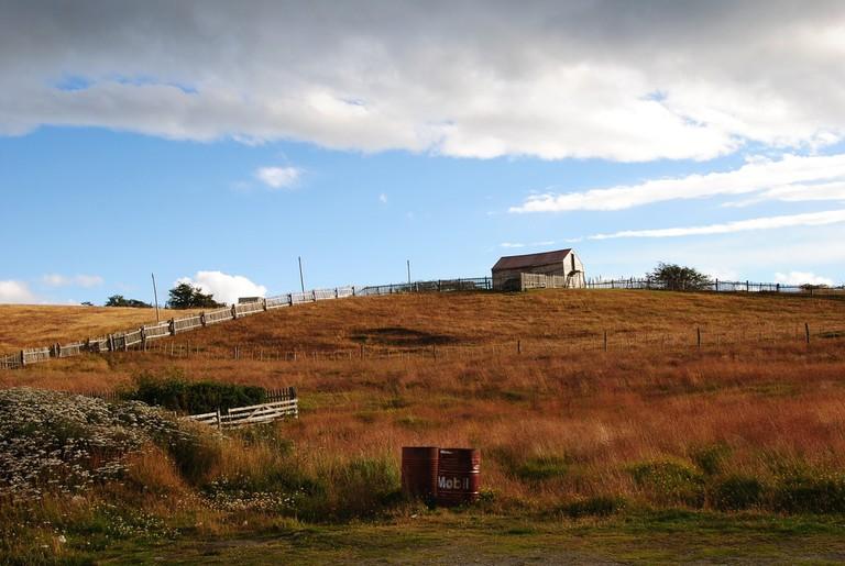 Gaucho life at a Patagonian estancia