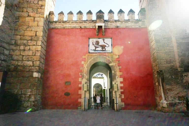 The Lion's Gate entrance to the Alcazar; José Luiz Bernardes Ribeiro/Commons.Wikimedia
