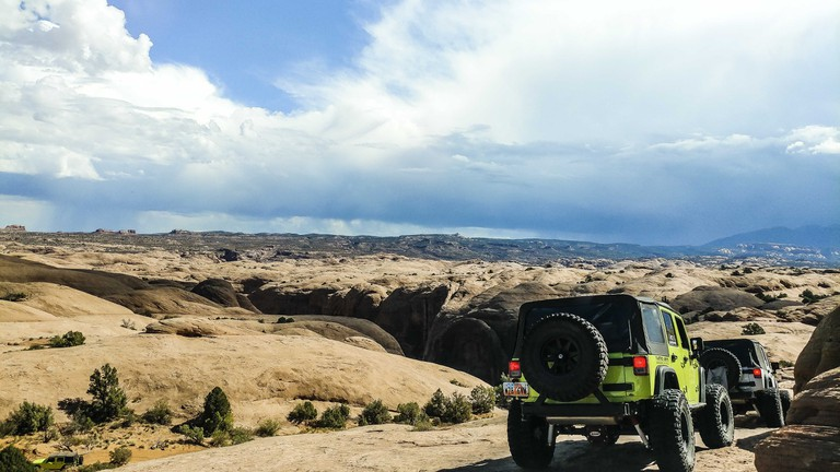 Four-wheeling in Moab, Utah | Michael LoRé/© Culture Trip