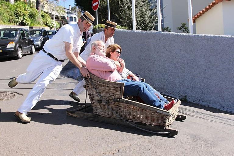 https://commons.wikimedia.org/wiki/File:Madeira_-_Monte_toboggan_ride_(33494324565).jpg