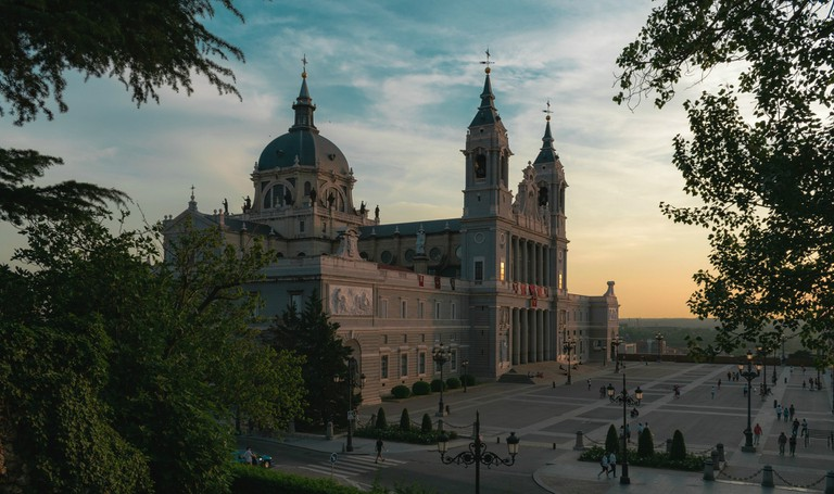 Madrid's Almudena Cathedral