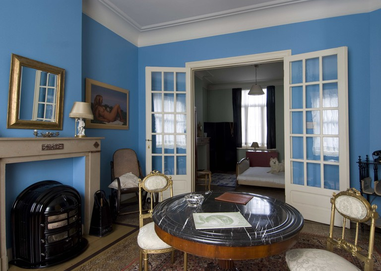 Magritte's old Jette home, now a museum | courtesy of Magritte House-Museum