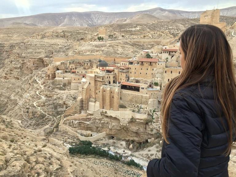 Mar Saba monastery in Israel's Judean Desert