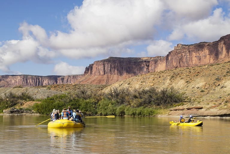 Rafting down the Colorado River in Moab, Utah | © Mark Choi/Culture Trip