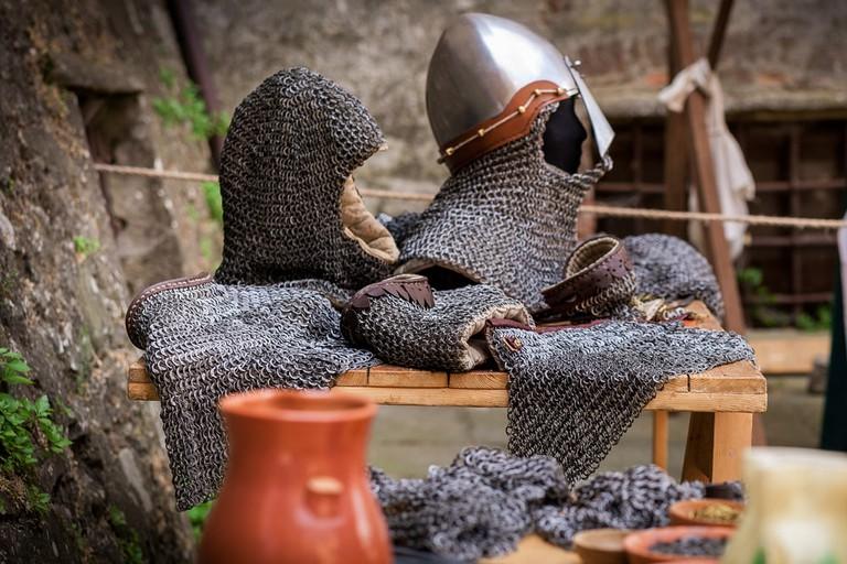Medieval hauberk