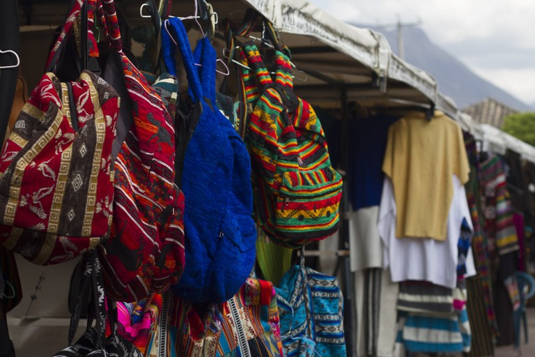 Otavalo marketplace | ©Vibeke Johannessen / Courtesy of The Viking Abroad