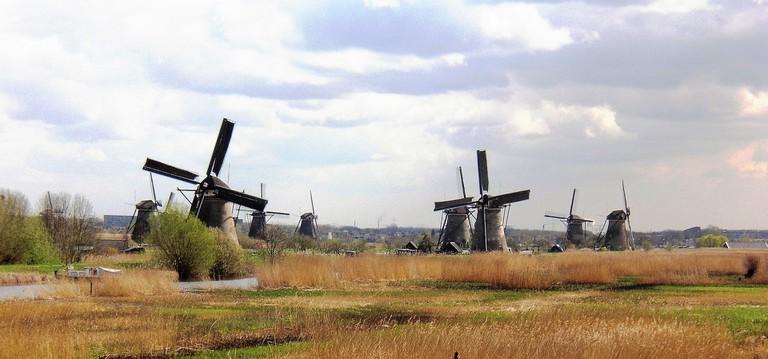 Kinderdijk is an UNESCO World Heritage Site