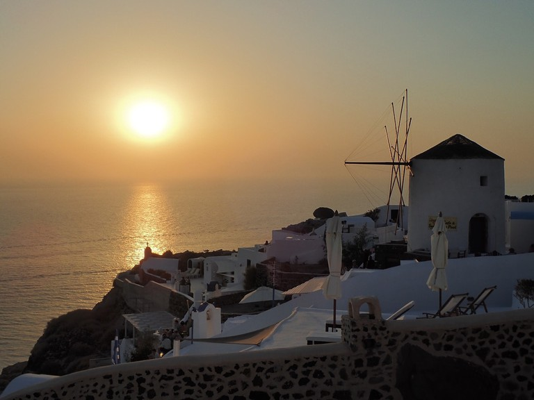 Sunset from Oia