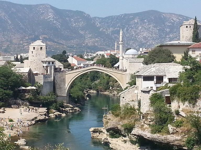 The Stari Most, Mostar   © Mucahitakoz/WikiCommons