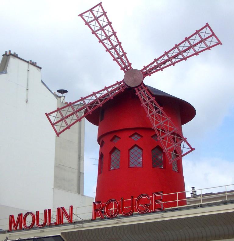 Moulin Rouge Paris | © Dan Kamminga / WikiCommons