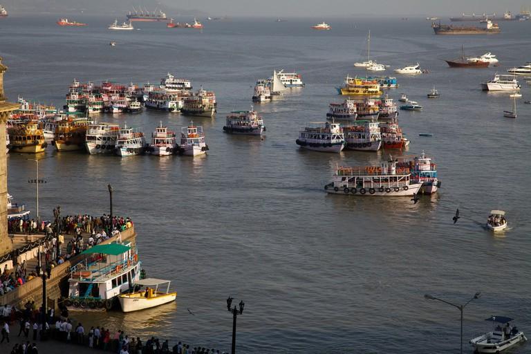 Mumbai Harbour David Brossard Flickr