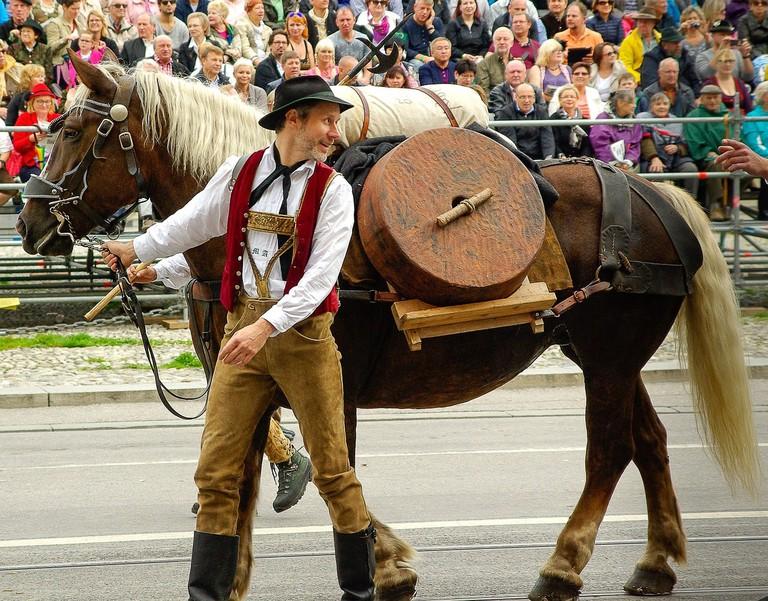 Munich Oktoberfest parade