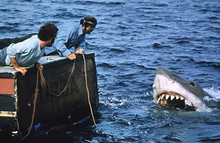 Richard Dreyfuss and Robert Shaw in 'Jaws' | © Universal Pictures