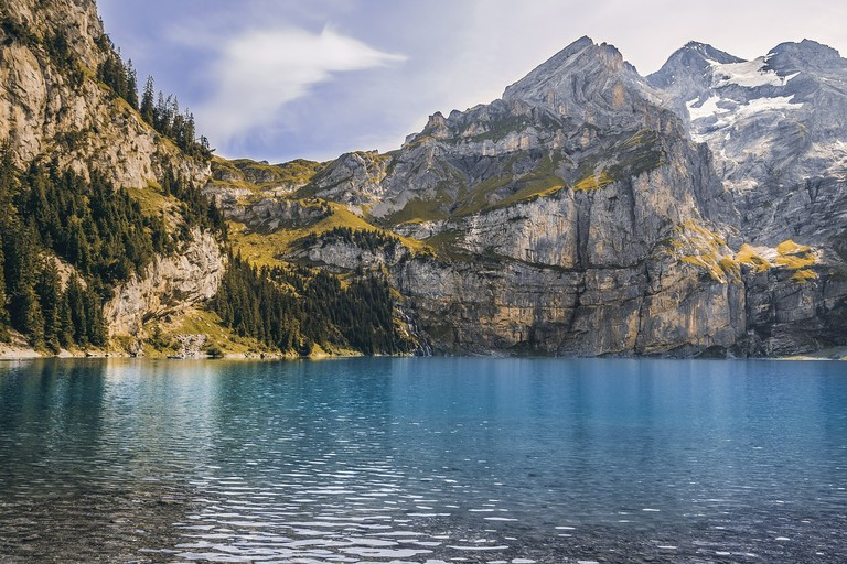 Switzerland is rich in natural beauty, but low on resources