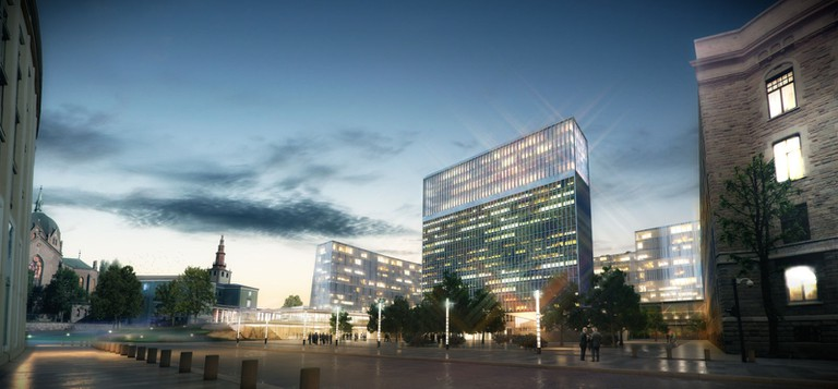 New Norwegian Government HQ | Courtesy of Nordic Office of Architecture
