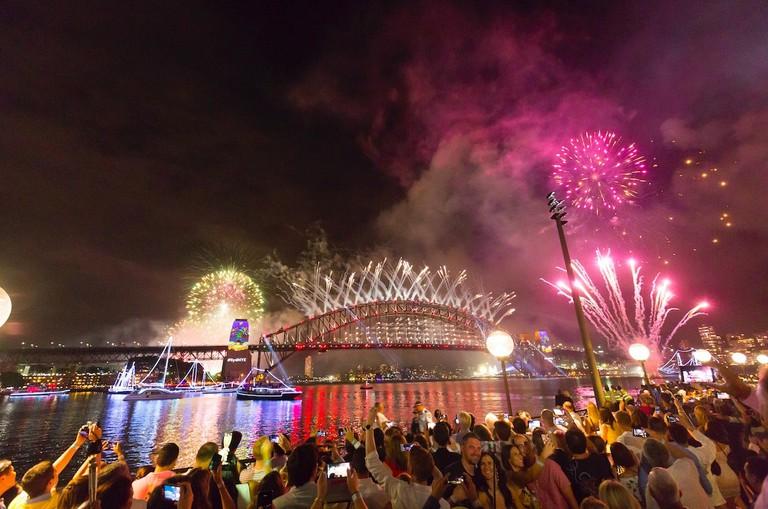 New Year's fireworks at Portside | Courtesy of Portside