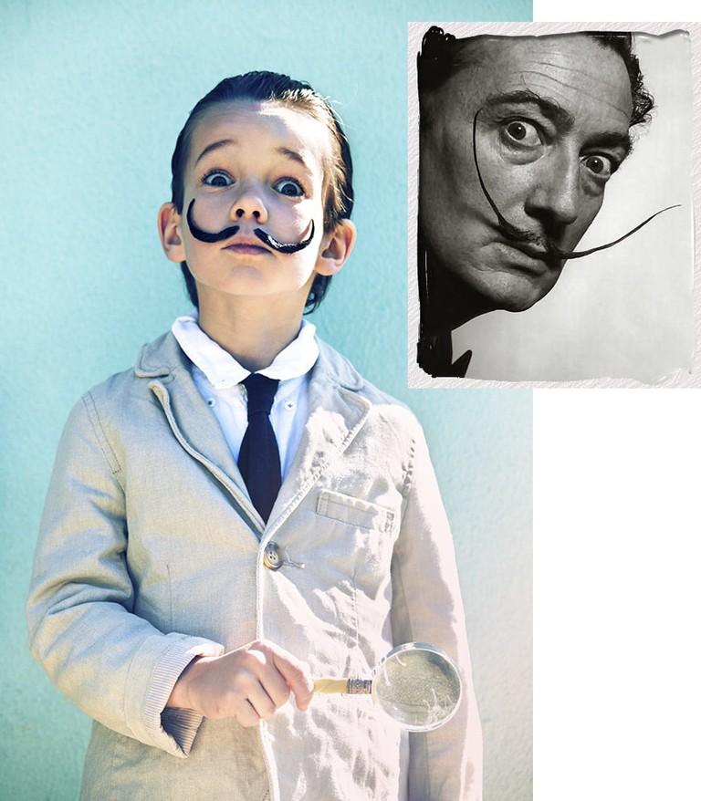 Salvador Dali | via Con Botas de Agua