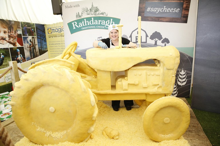 NO FEE 989 Cheese Tractor LIDL